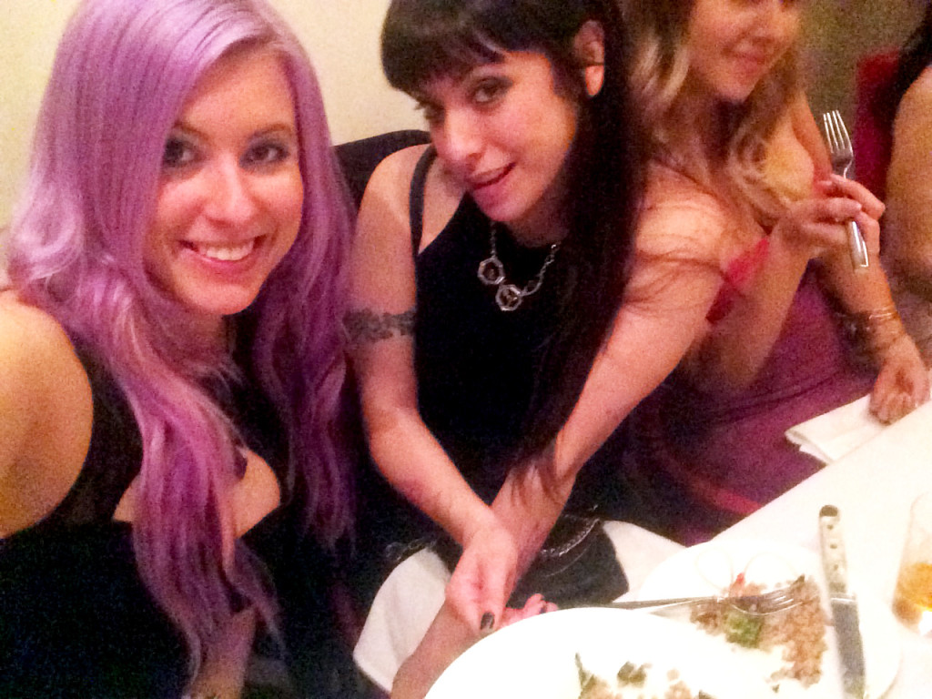 The Vegan babes. ;) Love Amara Noir. <3